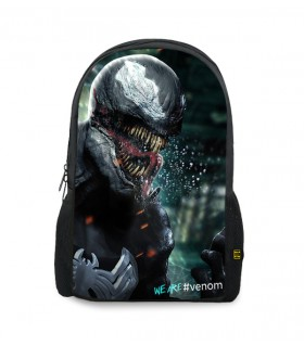 venom printed backpacks