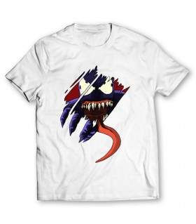 venom printed graphic t-shirt