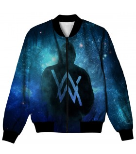 alan walker all over printed jacket