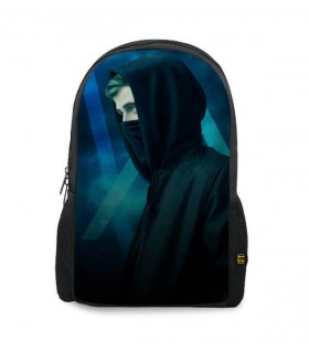 alan walker printed backpacks