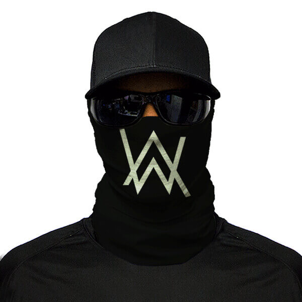 buy an alan walker printed bandana mask and add it to your