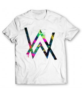 alan walker printed graphic t-shirts