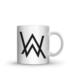 alan walker printed mug