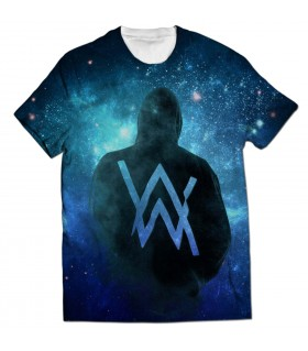 alan walker all over printed t-shirt