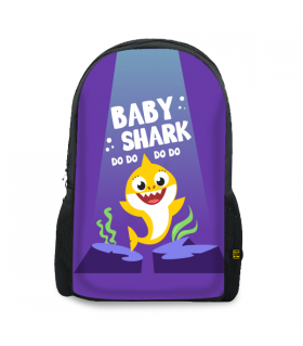 Baby Shark printed backpacks