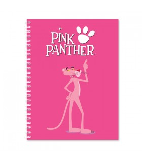 Pink Panther printed notebook