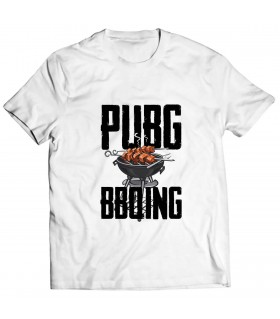 pubg bbq printed graphic t-shirt