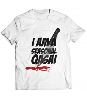 qasai printed graphic t-shirt