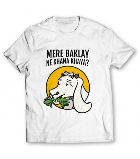 mere baklay printed graphic t-shirt