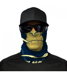 monkey mood printed bandana mask