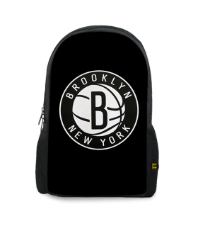brooklyn nets printed backpack