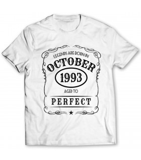 october printed graphic t-shirt
