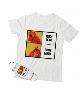 Teddy Bakra Mask And T-shirt Combo
