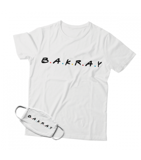 Bakray Mask And T-shirt Combo