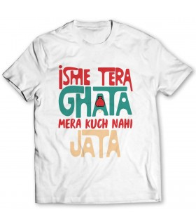 ghata printed graphic t-shirt