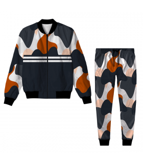 camouflage Jacket Track Suit