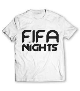 fifa nights printed graphic t-shirt