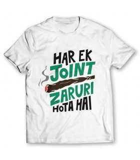 joint printed graphic t-shirt