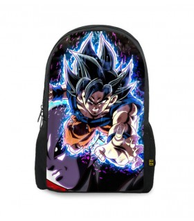 goku vs jiren printed backpacks