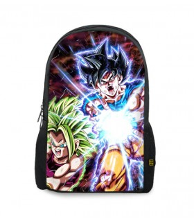 kale and goku printed backpacks