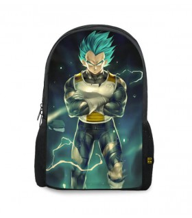 vegeta printed backpacks