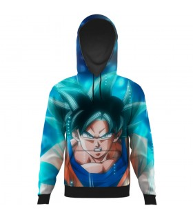 goku all over printed hoodie
