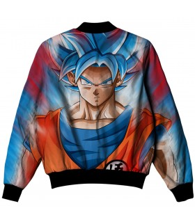 goku ssj all over printed jacket