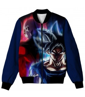 goku vs jiren all over printed jacket