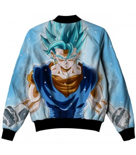 vegetto all over printed jacket