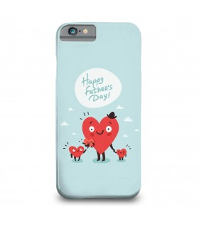 happy fathers day printed mobile cover