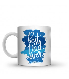 best dad ever printed mug