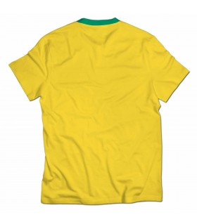 brazil all over printed t-shirt