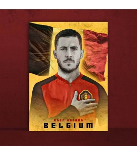 eden hazard canvas frames