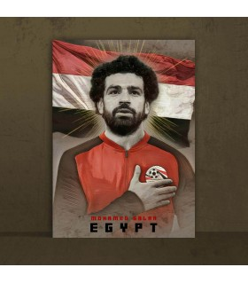 mohamed salah canvas frames