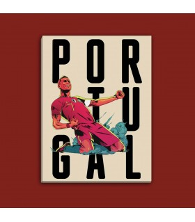 portugal canvas frame