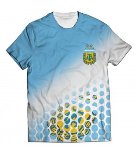 argentina all over printed t-shirt