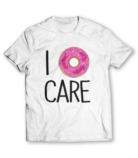 i care printed graphic t-shirt