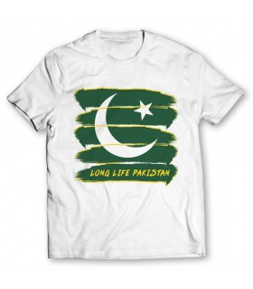 long life pakistan printed graphic t-shirt