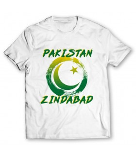 pakistan printed graphic t-shirt