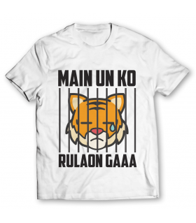 main un ko rulaon gaaa printed graphic t-shirt