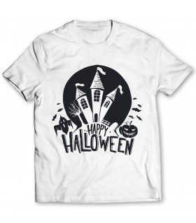 happy halloween PRINTED GRAPHIC T-SHIRT