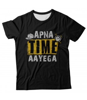 Apna Time Aayega all over printed t-shirt
