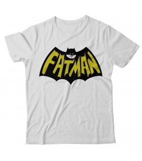 Fatman Printed Graphic T-shirt
