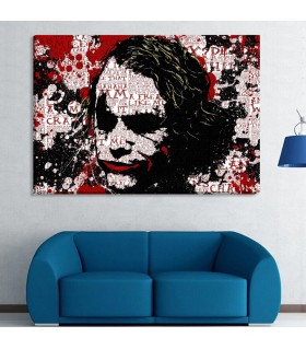 Joker canvas frames