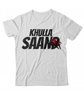 Khullla Saand Printed Graphic T-shirt