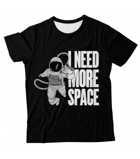 I Need More Space all over printed t-shirt