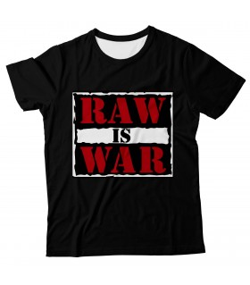 Raw is War all over printed t-shirt