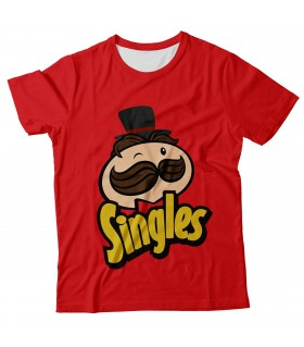Singles all over printed t-shirt