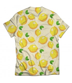lemons all over printed t-shirt