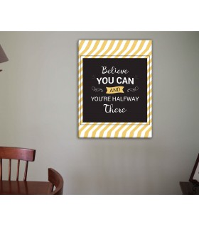believe you can canvas frames